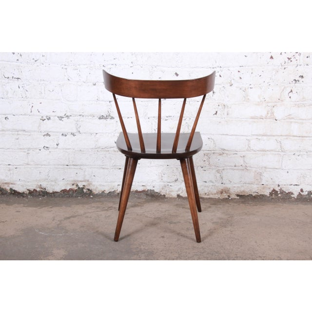 Paul McCobb Newly Refinished Planner Group Dining Chairs, Pair For Sale - Image 9 of 13