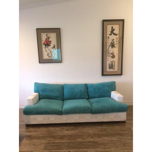 Angelo Donghia Vintage Block Island Sofa - Image 5 of 5