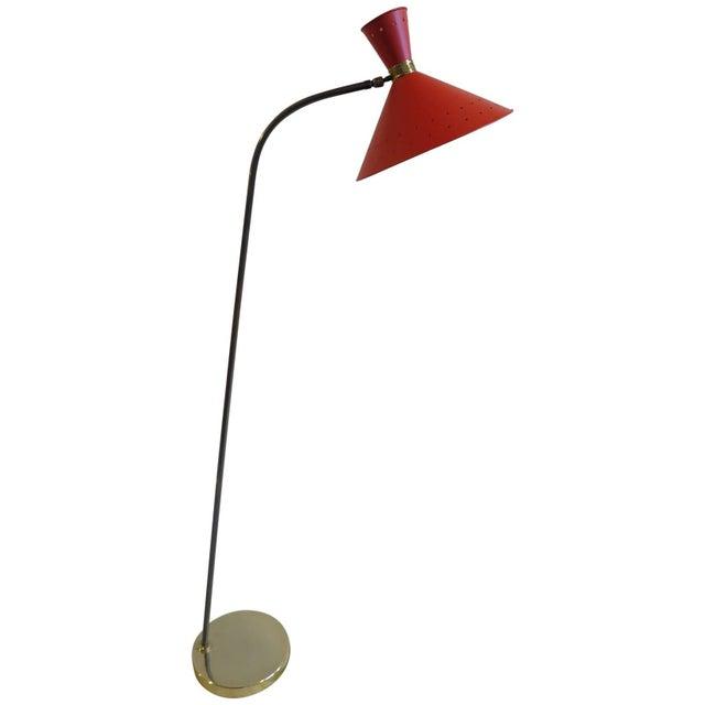 1950 Maison Lunel Floor Lamp For Sale - Image 10 of 10