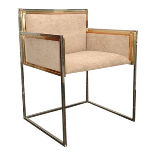 Set of Four Armchairs by Alain Delon for Maison Jansen For Sale