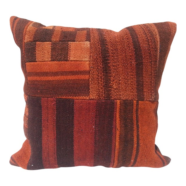 Handwoven Turkish Pillow Cover For Sale