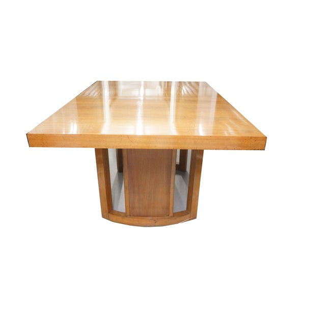 Mid-Century Modern 1950s Mid-Century Modern Morris of California Dining Set - 5 Pieces For Sale - Image 3 of 10
