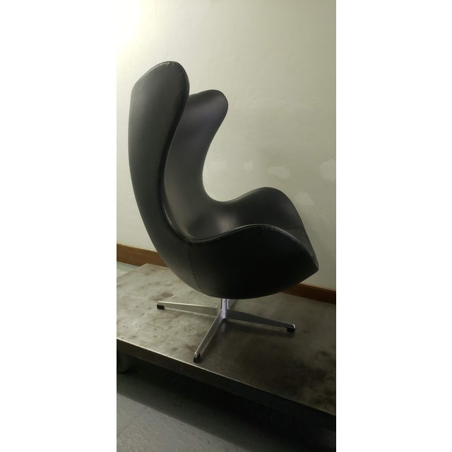 1950s Vintage Original Arne Jacobsen Egg Chair Chairish