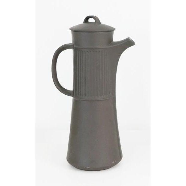 Mid-Century Modern Vintage Dansk Flamestone Coffee Set / Jens Quistgaard - Set of 19 For Sale - Image 3 of 7