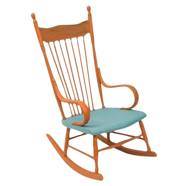 Restored Shabby Chic Style Rocking Chair - Image 1 of 4