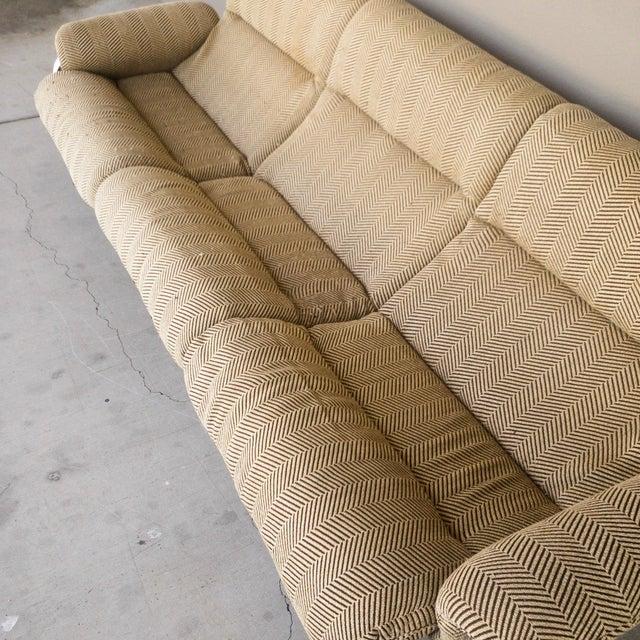 1970s 1970s Vintage Chrome Sling Sofa For Sale - Image 5 of 8