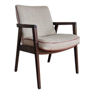 Restored Gunlocke Accent Chair For Sale