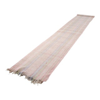 Vintage Swedish Trasmatta Floor Runner Rug