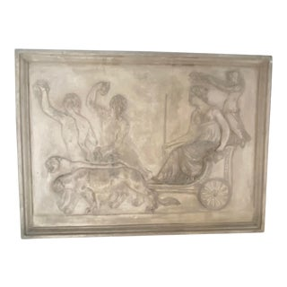 Architectural Terra-Cotta Bas Relief Sculpture For Sale