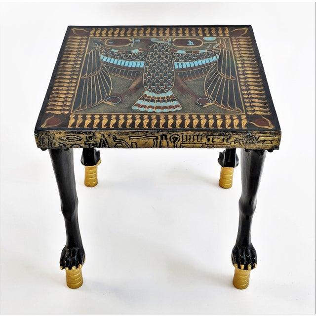 Egyptian Nekhbet Occasional Table - Image 11 of 11