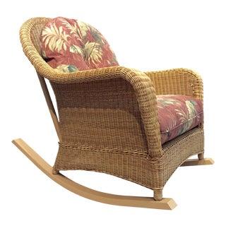 Outdoor Rattan Rocking Chair
