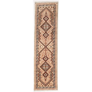 "Pakistani Hand-Knotted Runner- 2'8"" x 9'7"""