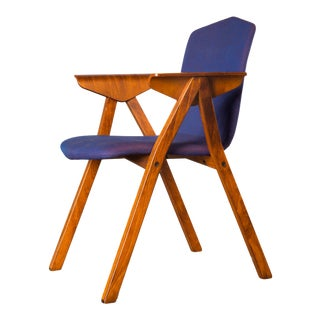 Mid-Century Rosewood Armchair by Norwegian Manufacturer Hag For Sale