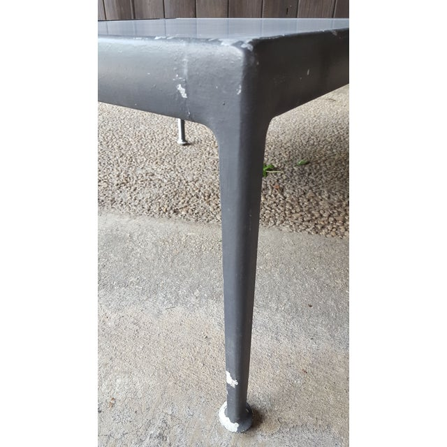 1960s Mid-Century Modern Knoll Richard Schultz Coffee Table / Outdoor Patio Furniture For Sale In Baltimore - Image 6 of 10