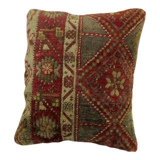 Antique Turkish Rug Pillow