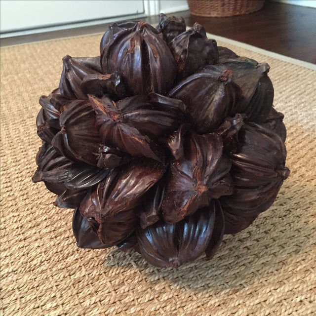 Seed Pod Sphere Decorative Object - Image 4 of 4