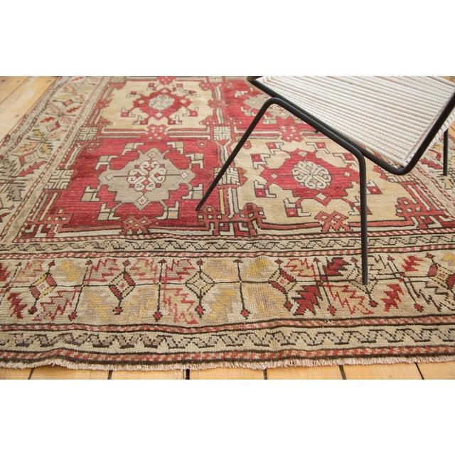 "Vintage Turkish Oushak Carpet - 5'5"" X 8'6"" - Image 4 of 8"
