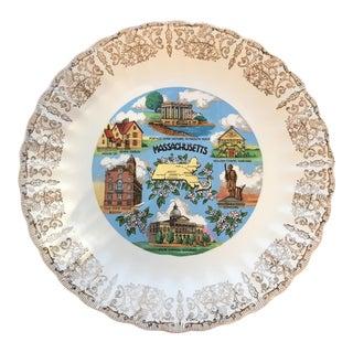 Vintage Massachusetts State Plate