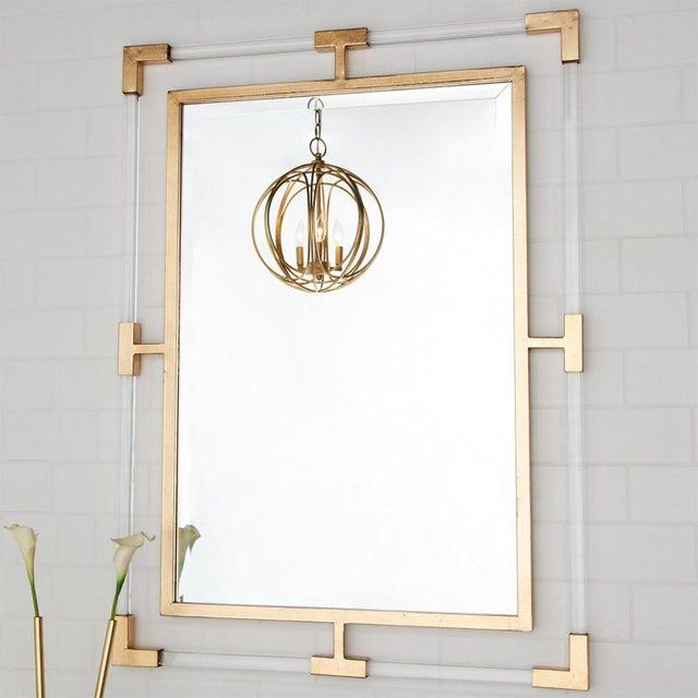 2010s Plexiglass Glam Mirror For Sale - Image 5 of 5