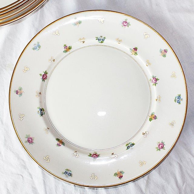 Dinner Plates by Lamberton, Molly Pitcher - Set of 6 For Sale - Image 5 of 8
