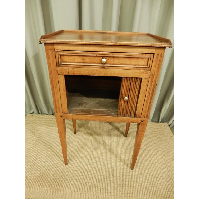 Brown Early 19th C. French Walnut Side Table For Sale - Image 8 of 9