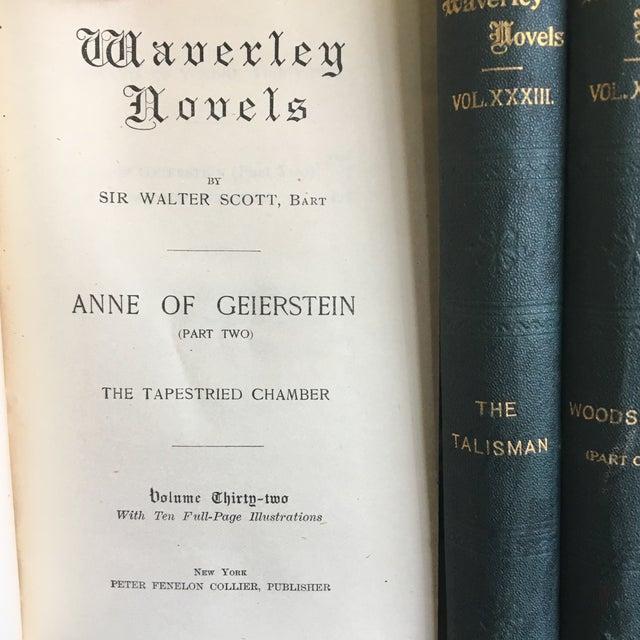 1900 Waverly Novels - Set of 30 For Sale - Image 4 of 11