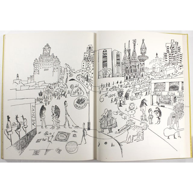 Saul Steinberg: The New World, First Edition For Sale In New York - Image 6 of 11