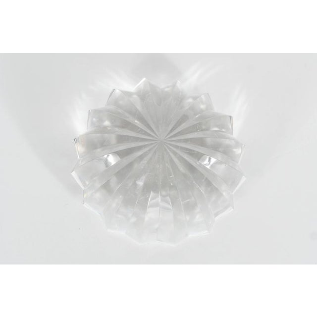 Baccarat Baccarat Radial Faceted Paperweight or Objet D'Art For Sale - Image 4 of 7