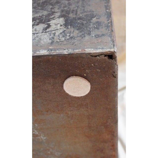 Antique Tea Bin/Side Table For Sale - Image 12 of 13