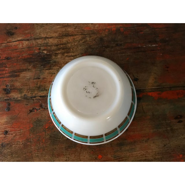 1950's Fred Press Fire King Bowl For Sale - Image 9 of 11