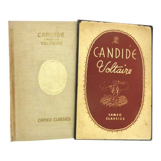 1930 Candide Book by Voltaire, Illustrated For Sale