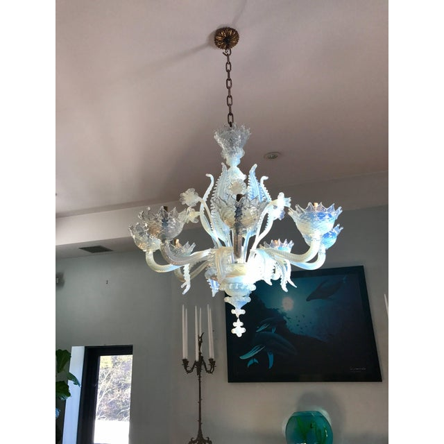1940s Murano Chandelier Circa 1940 For Sale - Image 5 of 8