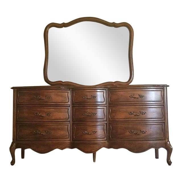 Vintage Broyhill French Provincial Dresser - Image 1 of 11