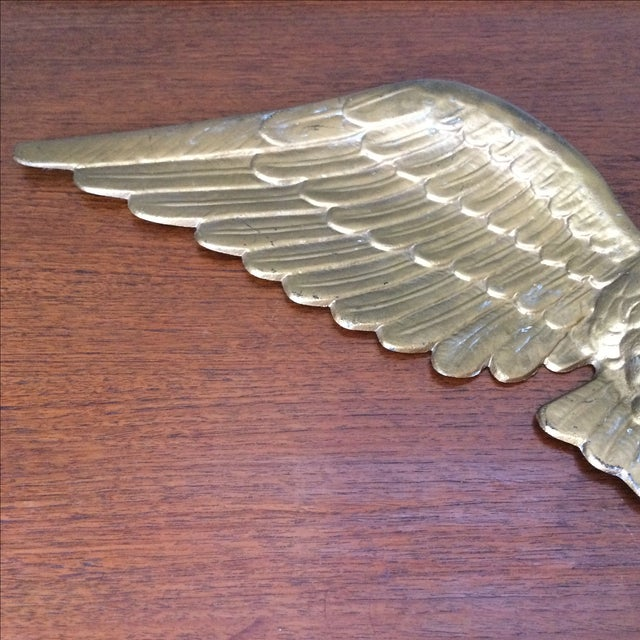 Vintage Gold Metal Eagle - Image 5 of 9