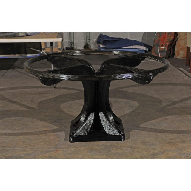 1980s Extraordinary Trompe L'oiel Dining or Centre Table by Betty Cobonpue, circa 1980 For Sale - Image 5 of 13