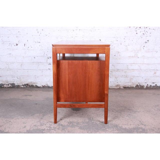 Kipp Stewart for Drexel Declaration Mid-Century Modern Walnut Desk and Chair For Sale - Image 10 of 13