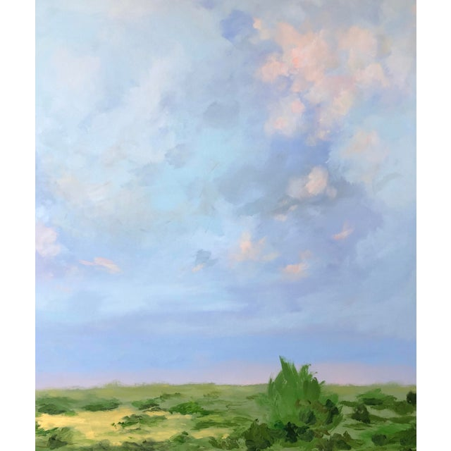 Southern Abstract Landscape by Chelsea Fly For Sale - Image 4 of 8