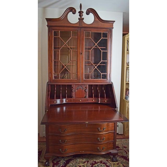 Antique Maddox Mahogany Secretary Desk - Image 3 of 11