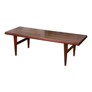 Niels Bach Rosewood Coffee Table For Sale
