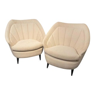 Adrian Pearsall Style Mid-Century Modern Lounge Chairs, Armchairs For Sale
