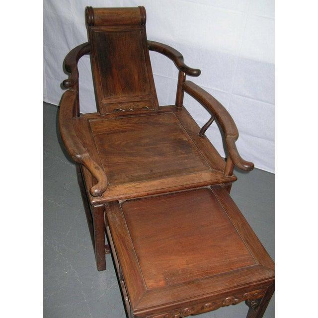 Fine 19Th Century Chinese Hongmu Hardwood Reclining Chair Chairish Creativecarmelina Interior Chair Design Creativecarmelinacom
