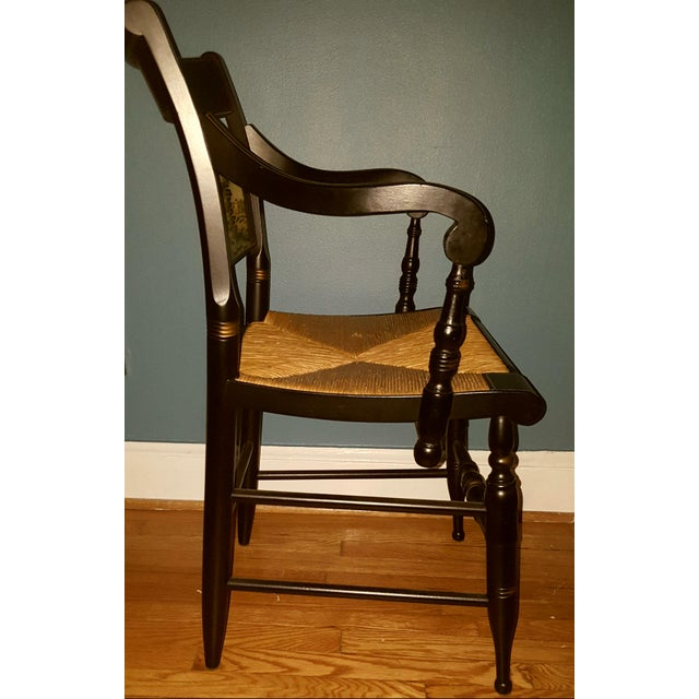 Hamilton College Hitchcock Accent Chair - Image 10 of 11