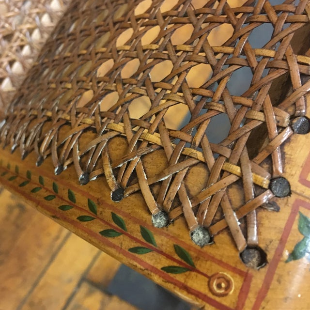 English Hand Chained Bench - Image 9 of 11