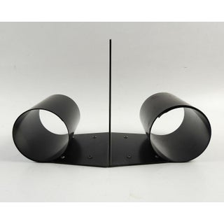 Spring Steel Metal Bookends - a Pair Preview