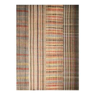 Vintage Rustic Contemporary Oversize Kilim Rug - 13′1″ × 18′10″