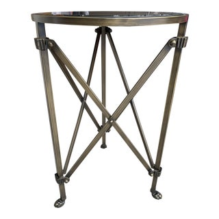 Mirrored Side Table For Sale
