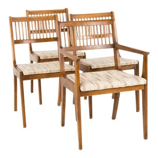 John Van Koert for Drexel Mid Century Dining Chairs - Set of 4 For Sale