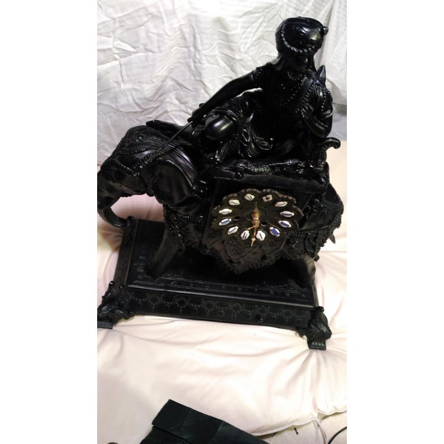 Egyptian Revival Mantel Clock - Image 11 of 11