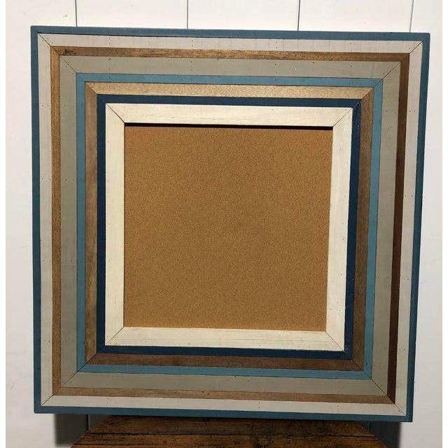 Custom Made Framed Cork Board For Sale - Image 4 of 4
