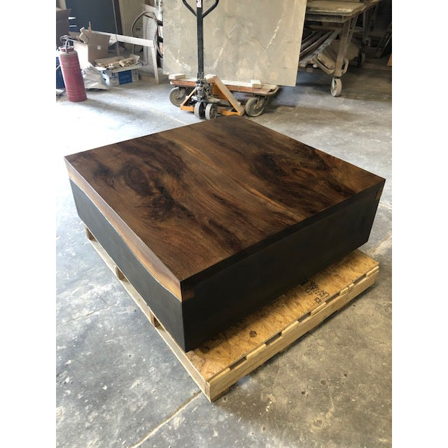 Not Yet Made - Made To Order Organic Modern Folded Live Edge Coffee Table For Sale - Image 5 of 6
